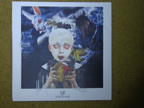 Korn- Poster- see You on the Other Side' Plate Signed Lithograph