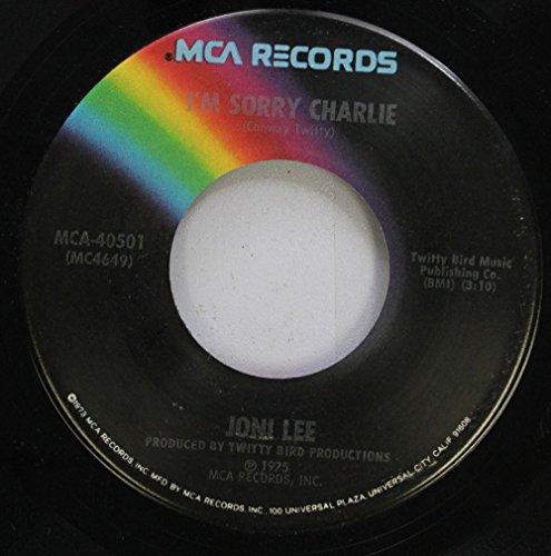 Joni Lee 45 RPM I''m Sorry Charlie / A Little Girl Cried