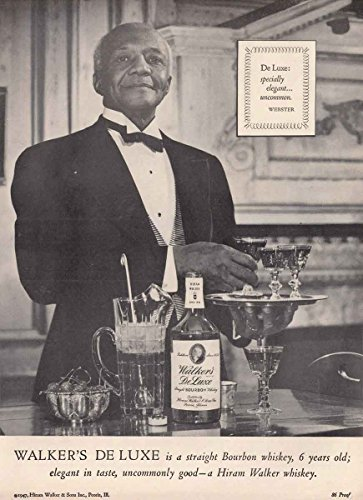1947 Hiram Walker Whiskey: Webster, Specially Elegant, Hiram Walker Print (Hiram Walker Whiskey)