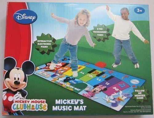 Disney Junior Mickey Mouse Clubhouse Mickey's Music Mat