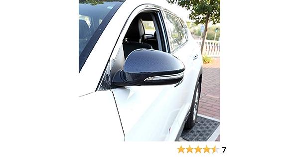 Para Tucson 2016-2019 ABS Interior puerta delantera tri/ángulo de coche Mate 2 piezas HIGH FLYING
