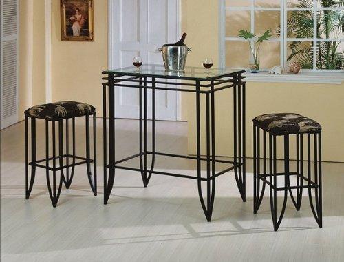 Brand New 3-Pk Matrix Bar Set- Table(37''x24.75''x40''H) & set of 2 Bar Stools ()