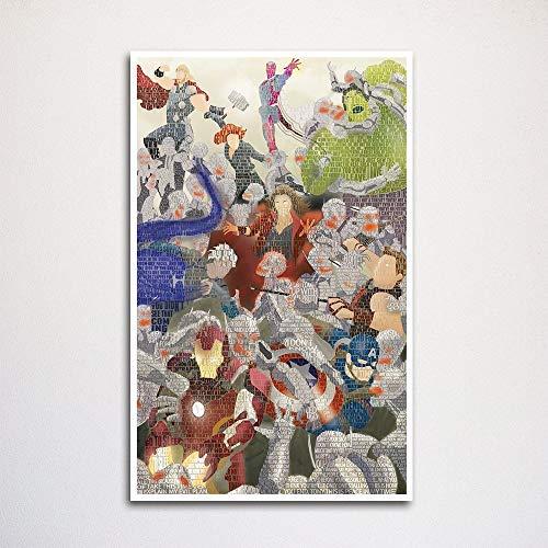 Age of Ultron word art print 11x17