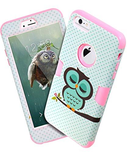 low priced 59019 fe1ff iPhone 6s Plus case, iPhone 6 Plus case Owl, TOPSKY [Cute Owl Series ...