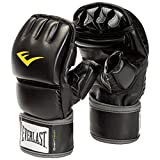 Everlast Unisex Wrist Wrap Heavy Bag Gloves, Black, Large/X-Large