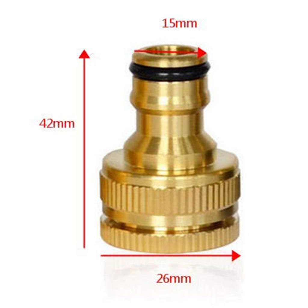 """Genuine 1//2/"""" 3//4/"""" Tuyau Tuyau Fileté Connecteur robinet"""