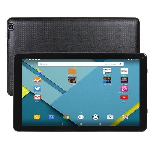 Tg Tek Tg1051 10 1  Android Wifi Tablet Quad Core 1 34Ghz 1Gb 16Gb W Cam   Bt   Black  Certified Refurbished