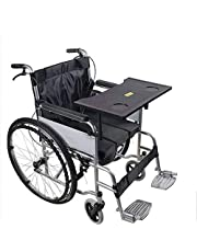 Wheelchair Tray - Detachable Wheelchair Lap Desk with Cup Holder - Universal Wheelchair Table Accessories for Eating,Reading & Resting