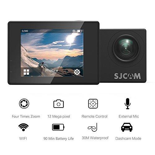 Action Camera SJCAM SJ4000 WIFI FHD1080P waterproof Underwater Camera 12MP Sports Camcorder 2.0 LCD Screen Display -Black by SJCAM (Image #1)