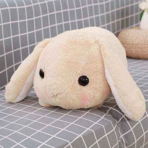 Lop Eared Rabbit Plush Toys Stuffed Cartoon Animal Dolls Accompany Sleeping for Kids Girl Boy Home Decor Birthday Gift 40 cm