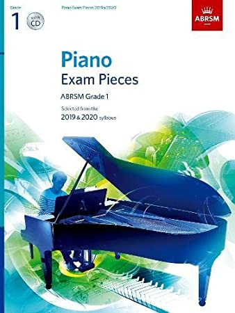 Amazon com: CF Peters Piano Exam Pieces 2019 & 2020 - Grade