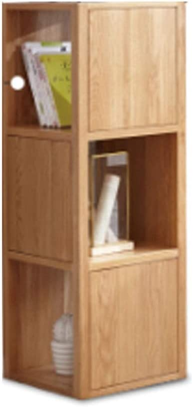 Wooden Bookcase Storage Bookshelf Solid Wood Home Office Furniture Decor Cabinet