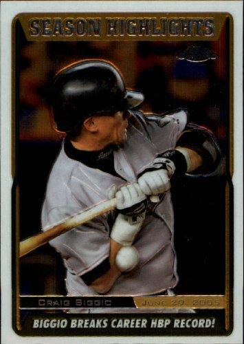 2005 Topps Chrome Update Baseball Card #216 Craig Biggio Near Mint/Mint