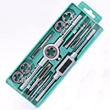 GORCHEN Thread Tap and Die Set Combination Alloy Steel Hand Tools Metric Size