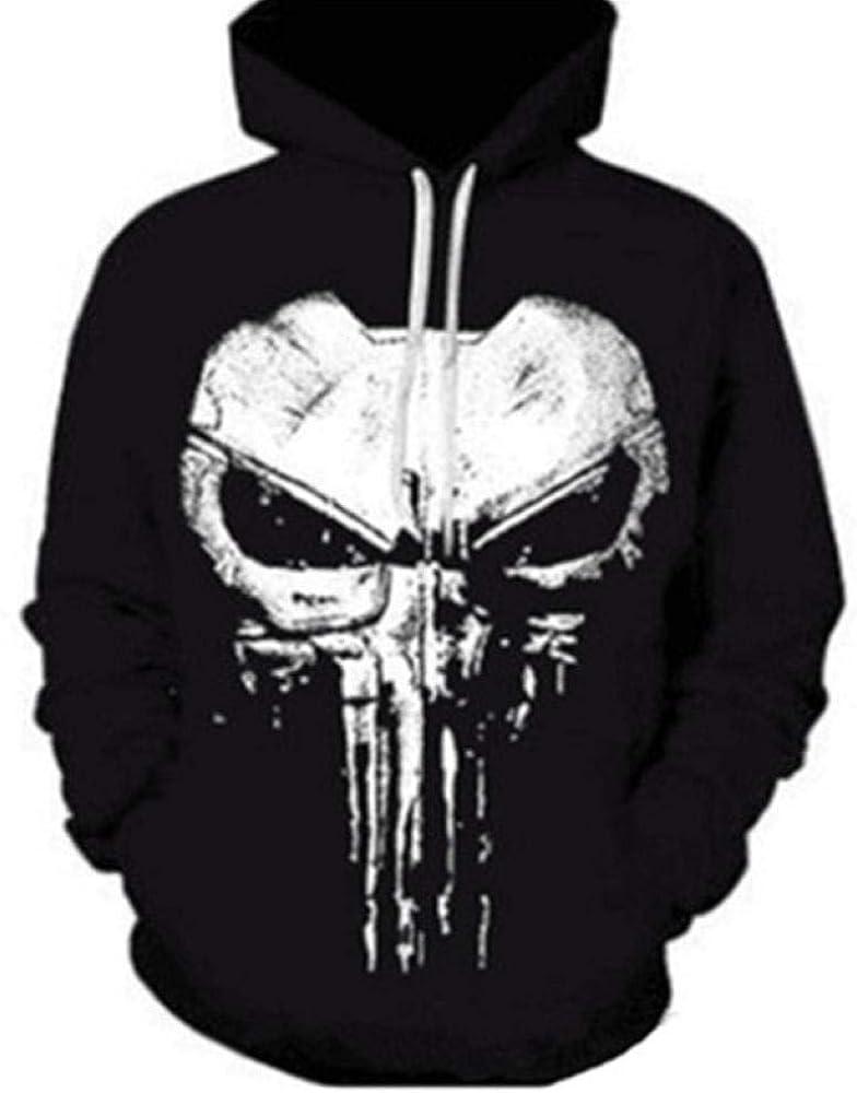 Feizhai Men Hoodies 3D Sweatshirt Homme Pullover Mens Sweat Shirt Black Hoodie Hood Man Punisher Tees Tops Streetwear
