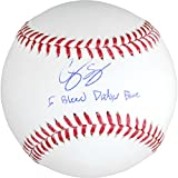 Corey Seager Los Angeles Dodgers Autographed Baseball with I Bleed Dodger Blue Inscription - Fanatics Authentic Certified