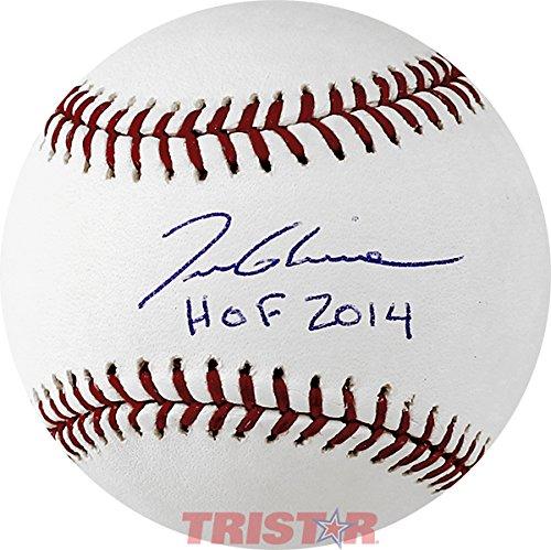 Tom Glavine Signed Autographed MLB Baseball Inscribed HOF 2014 TRISTAR COA (Tristar Baseball)