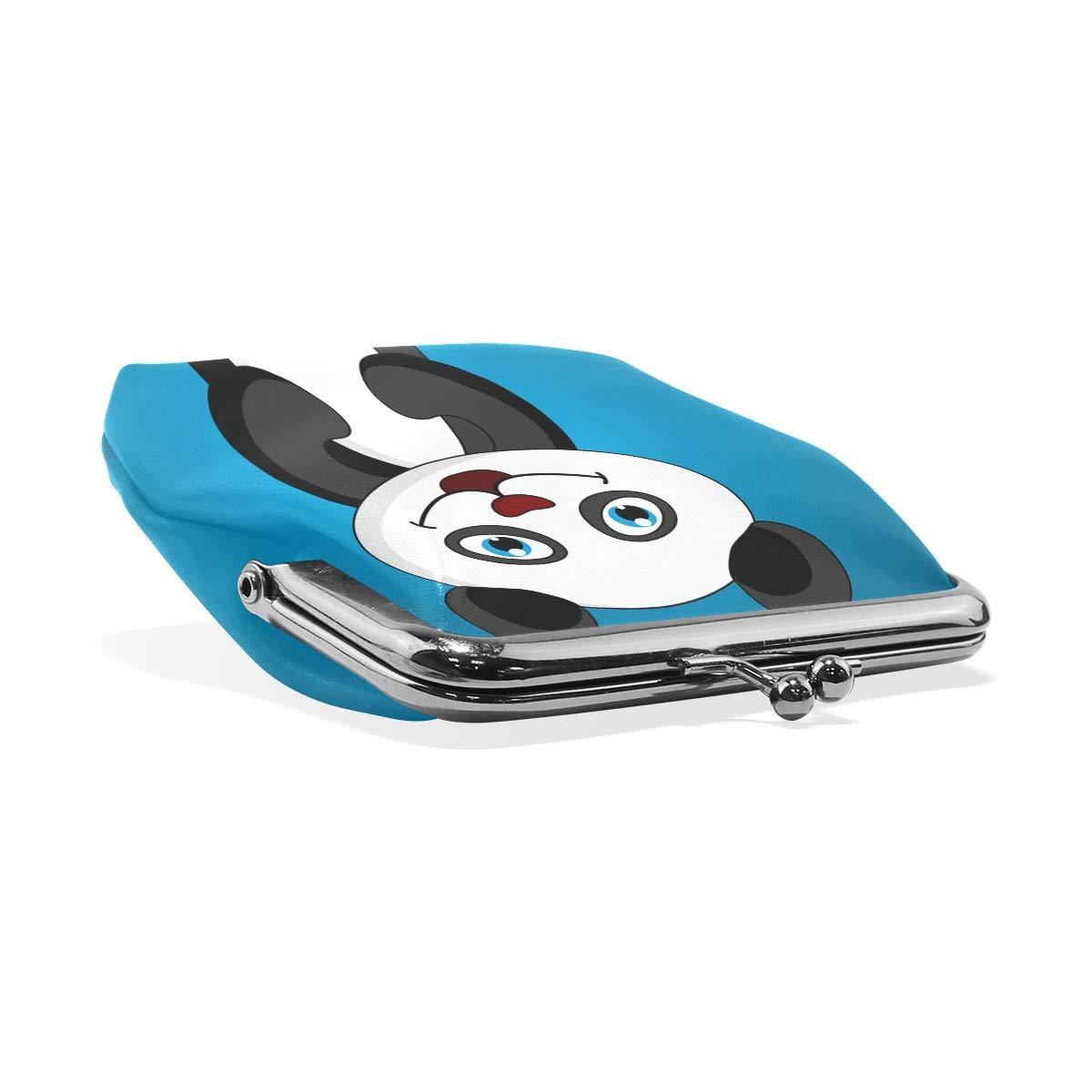 LALATOP Happy Cartoon Panda Womens Coin Pouch Purse wallet Card Holder Clutch Handbag