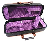 Great Light Weight 4/4 Double/Two Violin Foamed Case + Free Violin Strings Set