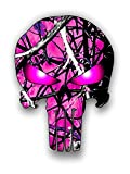 camouflage truck decals - Hot pink camouflage punisher sticker / decal **Free Shipping**