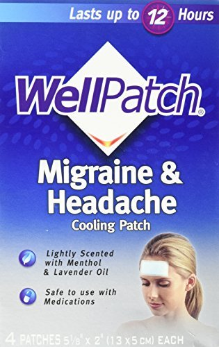WellPatch Migraine Cooling Headache Pads-4ct by WellPatch