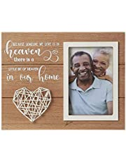 The Aus Home Memorial Picture Frame - Memorial Gifts - Sympathy Gifts Large Picture Frames - Loss of Father Gift - Loss of a Mother Sympathy Gifts