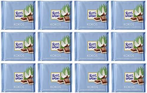 Price comparison product image Ritter Sport Kokos 100g (12-pack)