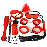 Black Wolf 10PCS New Leather Bondage Set Restraints Adult Games Sex Toys for Couples Woman Slave Game SM Sexy Erotic Toys
