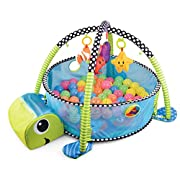 Baby Activity Center by BMyBaby - Pop-up Baby Play Mat with Integrated Activity Gym and Ball Pit for Babies and Infants