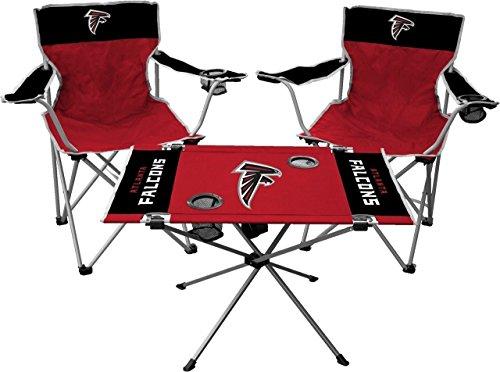 Jarden NFL Atlanta Falcons Tailgate Kit, Team Color, One Size (Atlanta Falcons Tailgate Table)