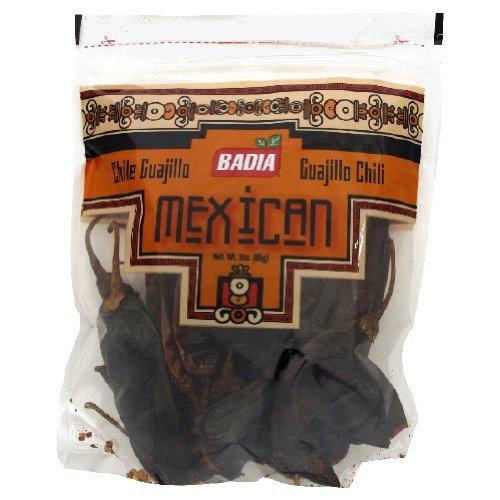 Badia Guajillo Chili Pods, 3-Ounce (Pack of 12)