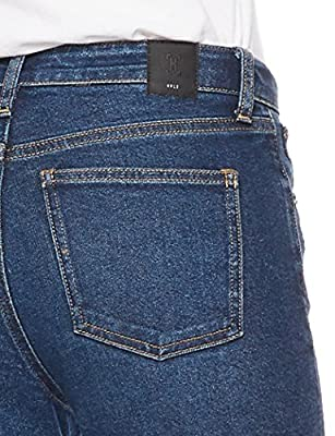 HALE Women's Carrie High Rise Mini Boot Leg Jean