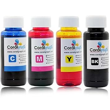 BULK REFILL INK FOR HP HEWLETT PACKARD 4 COLOR PRINTER 400ML ...