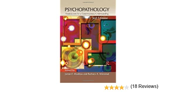 Psychopathology: Foundations for a Contemporary Understanding ...