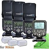 Yongnuo YN560 IV Camera DSLR Flash,YN560TX-Nikon and Diffuser for Nikon DSLR Camera