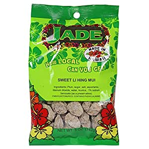 Jade Sweet Li Hing Mui Dried Plums 5 Ounces