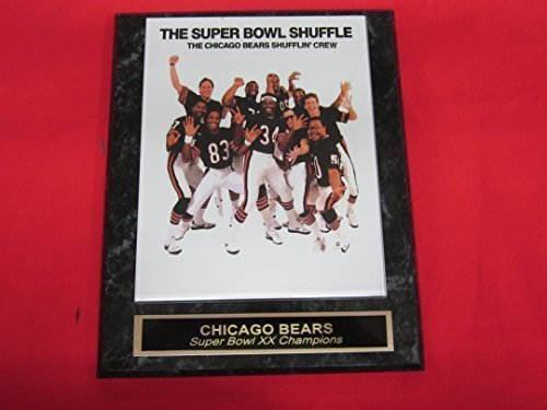 Jim Mcmahon Chicago Bears - 1985 Chicago Bears Super Bowl XX Champions Collector Plaque w/8x10 Photo