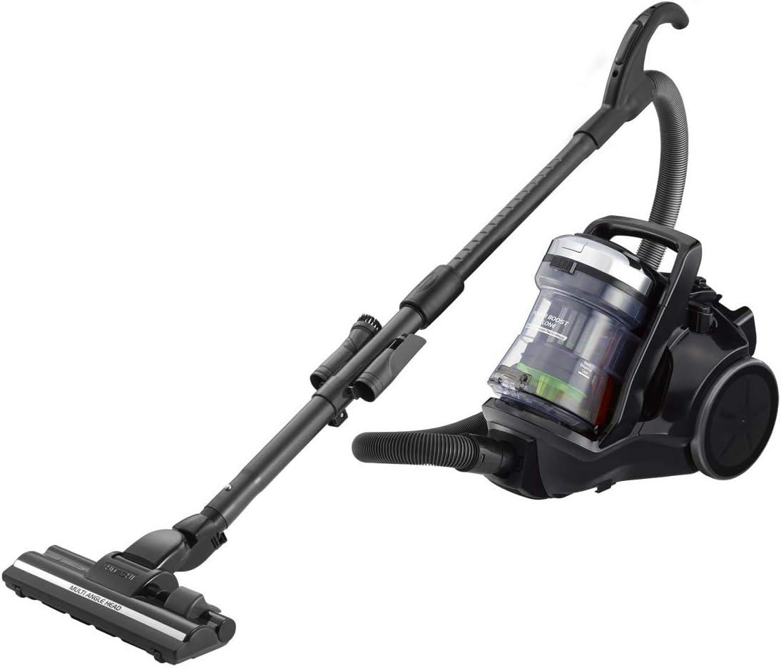HITACHI Vacuum Cleaner, Canister,21L,2300W,Hepa & Nano Filter,Black - CV-SC23V SS220 DBK