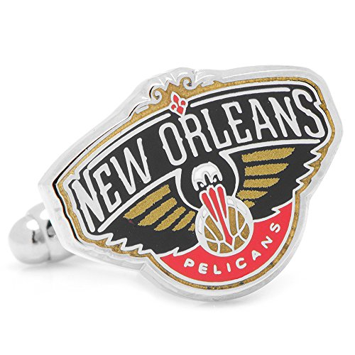 Cufflinks NBA New Orleans Pelicans, Officially Licensed by Cufflinks