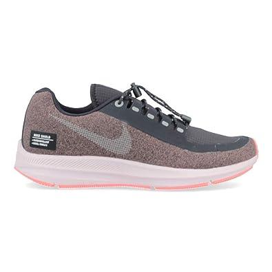 pretty nice d53cc 772d7 Nike Damen W Zm Winflo 5 Run Shield Laufschuhe, Violett (Smokey Mauve/MTLC