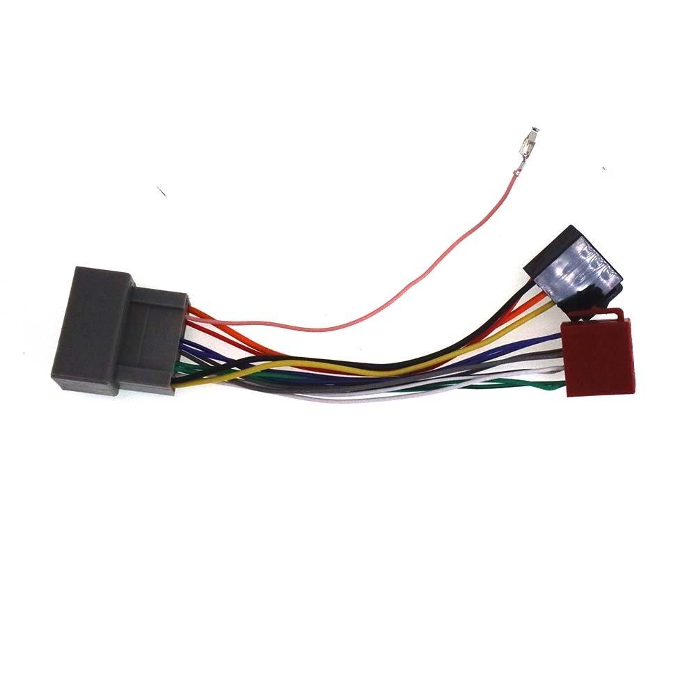 ZWNAV norma ISO cablaggio adattatore radio per Honda 2008 + cablaggio per auto stereo lettore CD Plug Autostereo TECH
