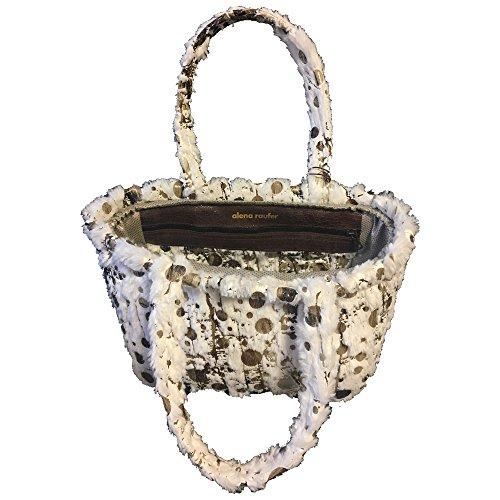 One White Women's Raufer size Bunny Brown Tasche Alena Bag Ar Multicolour Tote vxdA8q85