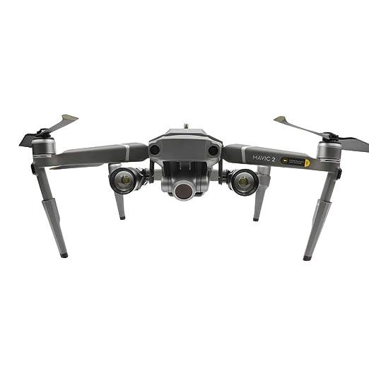 Luz LED de dron, estabilizadores de engranajes de aterrizaje con ...