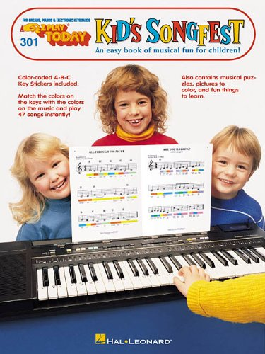 EZ-Play Today #301: Kid's Songfest (Piano Play Today Songbook)