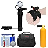 Intova I-AVL Underwater LED Action Video Light with Camera Bracket Mount with Hand Wrist Mount + Float Buoy Handle Grip + Case + Kit