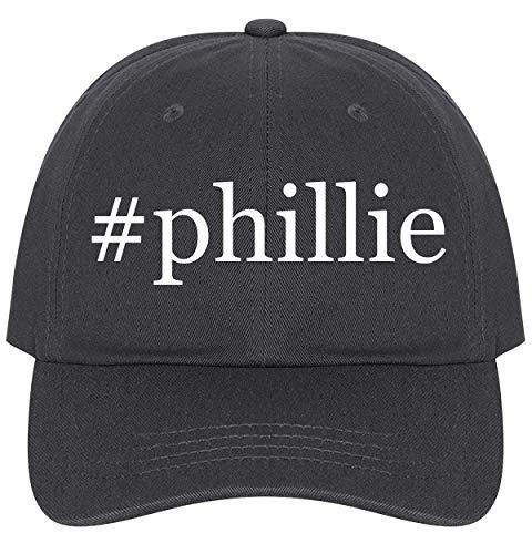 The Town Butler #Phillie - A Nice Comfortable Adjustable Hashtag Dad Hat Cap, Dark Grey ()