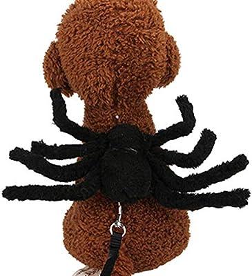 Ropa para mascotas Correa para el pecho de la araña Disfraz de ...