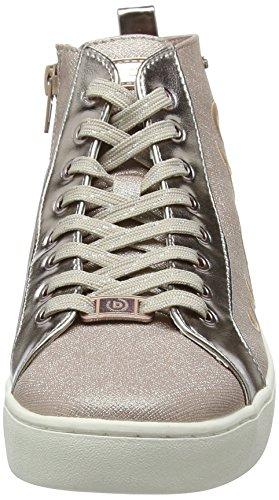 Rosa rose 422291335959 3490 Para Metallics Altas Bugatti Mujer Zapatillas qwzBpwxa