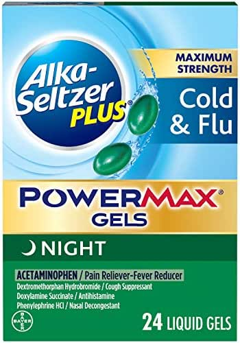 Digestion & Nausea: Alka-Seltzer Plus PowerMax