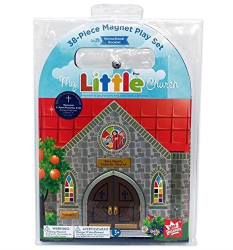 my-little-church-magnet-set